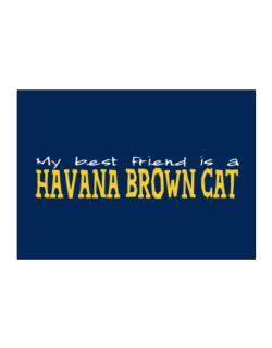 My Best Friend Is A Havana Brown Sticker