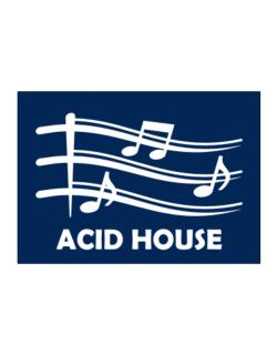 Acid House - Musical Notes Sticker