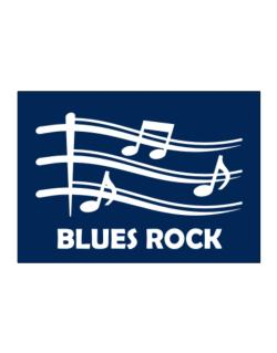 Blues Rock - Musical Notes Sticker
