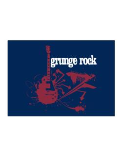 Grunge Rock - Feel The Music Sticker