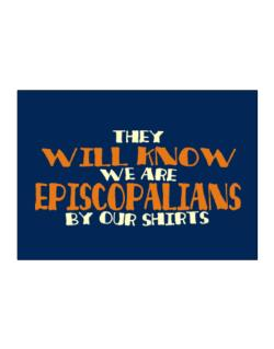 They Will Know We Are Episcopalians By Our Shirts Sticker