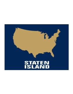 Staten Island - Usa Map Sticker