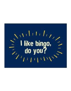 I Like Bingo, Do You? Sticker