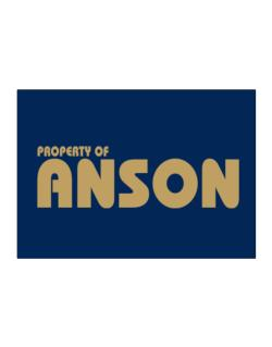 Property Of Anson Sticker