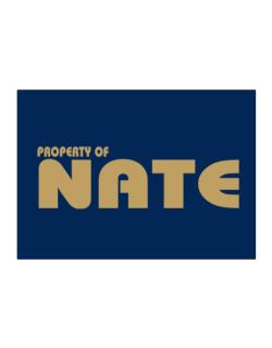 Property Of Nate Sticker