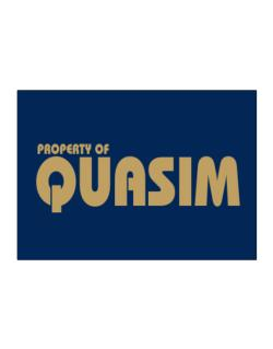 Property Of Quasim Sticker