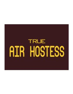 True Air Hostess Sticker