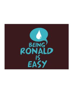 Being Ronald Is Easy Sticker