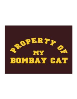 Property Of My Bombay Sticker