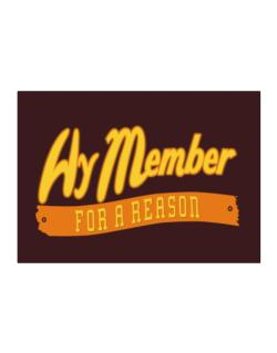 Hy Member For A Reason Sticker