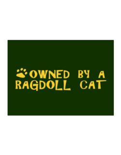 Owned By A Ragdoll Sticker