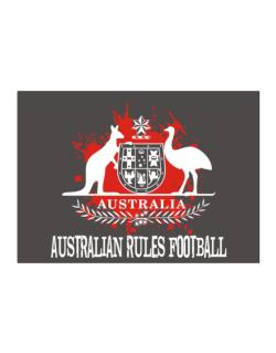Australia Australian Rules Football / Blood Sticker