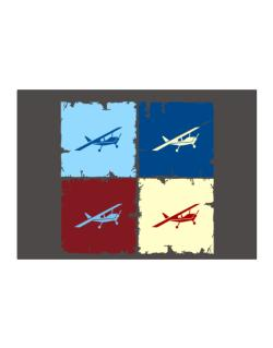 """ Aerobatics - Pop art "" Sticker"