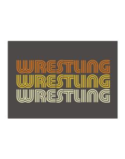 Wrestling Retro Color Sticker