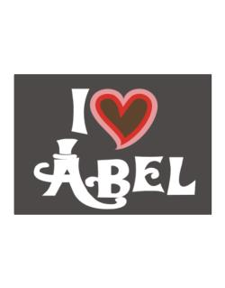 I Love Abel Sticker