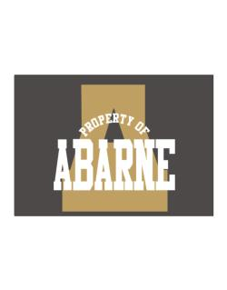 Property Of Abarne Sticker