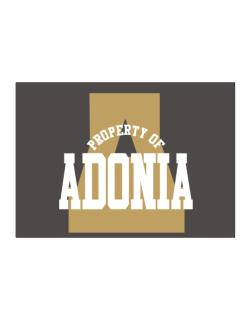 Property Of Adonia Sticker
