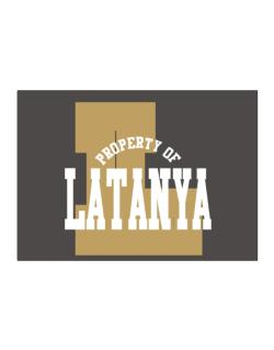 Property Of Latanya Sticker