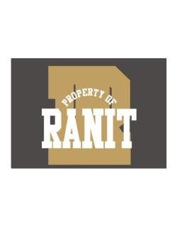 Property Of Ranit Sticker
