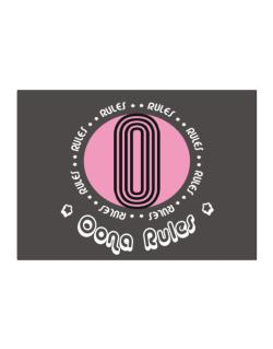 Oona Rules Sticker