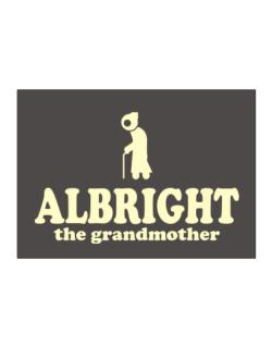 Albright The Grandmother Sticker