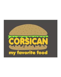 Corsican My Favorite Food Sticker