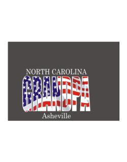 Grandpa Asheville - Us Flag Sticker
