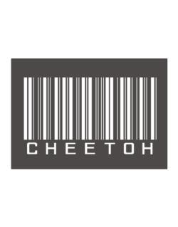 Cheetoh Barcode Sticker