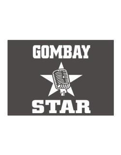 Gombay Star - Microphone Sticker