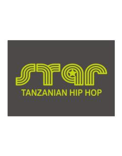 Star Tanzanian Hip Hop Sticker