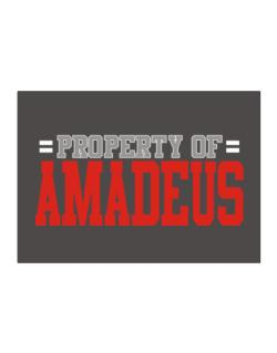 """ Property of Amadeus "" Sticker"