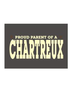 PROUD PARENT OF A Chartreux Sticker