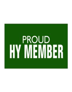 Proud Hy Member Sticker