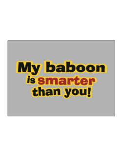 My Baboon Is Smarter Than You! Sticker