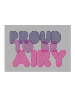 Proud To Be Airy Sticker