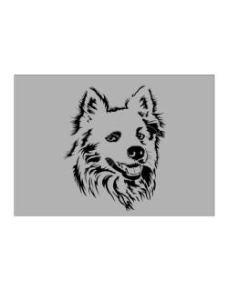 """ Australian Cattle Dog FACE SPECIAL GRAPHIC "" Sticker"