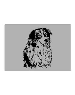Australian Shepherd Face Special Graphic Sticker