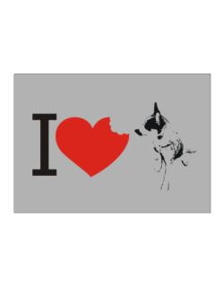 I love Australian Cattle Dogs Sticker
