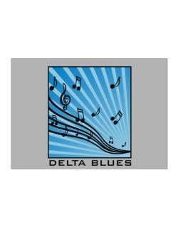 Delta Blues - Musical Notes Sticker