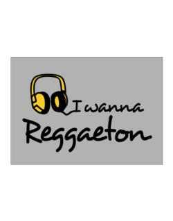 I Wanna Reggaeton - Headphones Sticker