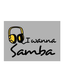 I Wanna Samba - Headphones Sticker