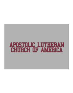 Apostolic Lutheran Church Of America - Simple Athletic Sticker