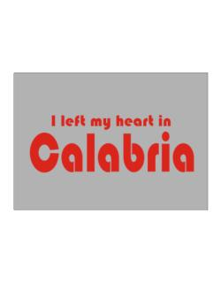 I Left My Heart In Calabria Sticker