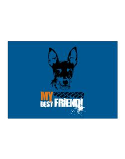 """ Fox Terrier MY BEST FRIEND - URBAN STYLE "" Sticker"