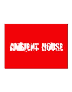 Ambient House - Simple Sticker