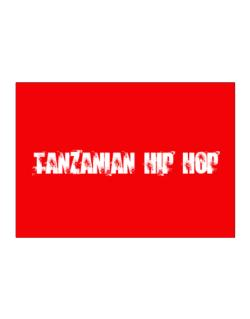 Tanzanian Hip Hop - Simple Sticker