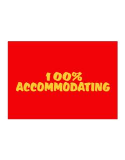 100% Accommodating Sticker