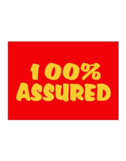 100% Assured Sticker
