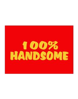 100% Handsome Sticker