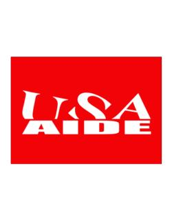 Usa Aide Sticker